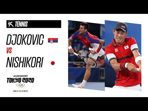 DJOKOVIC vs NISHIKORI   Men's Tennis - Quarter Final - Highlights   Olympic Games - Tokyo 2020