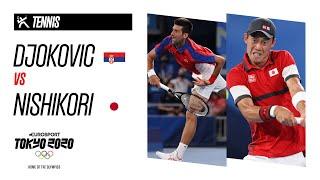 DJOKOVIC vs NISHIKORI   Men's Tennis - Quarter Final - Highlights
