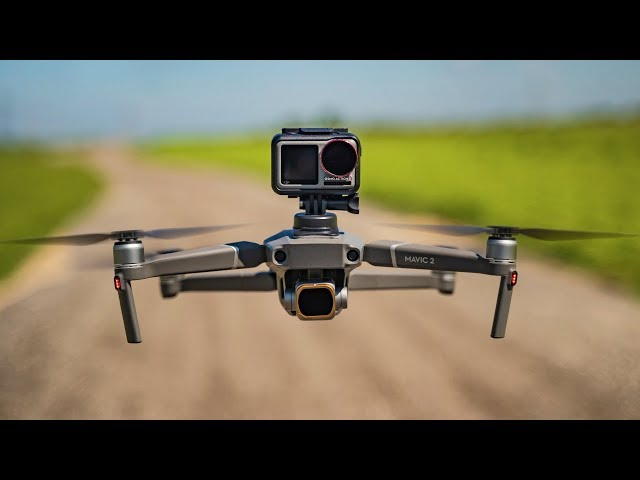 FLYING THE OSMO ACTION ON A MAVIC 2 PRO!