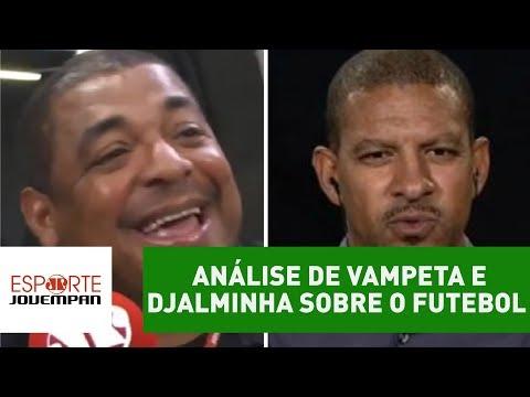 OLHA essa análise de Vampeta e Djalminha sobre o futebol atual!
