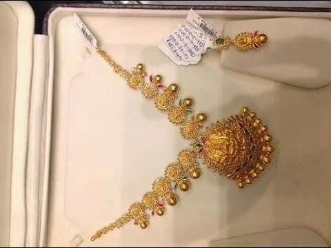 Simple Beautiful Short Gold Necklace Designs 2019 Youtube