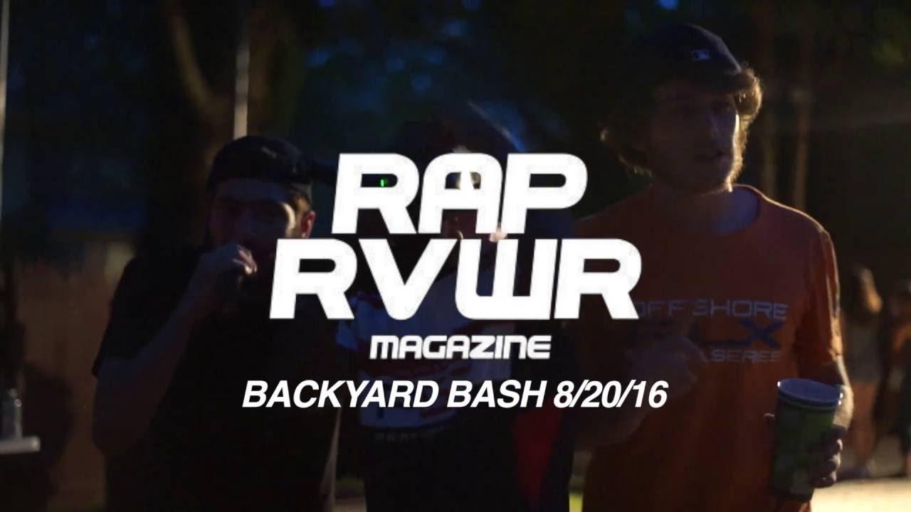 rap rvwr backyard bash youtube