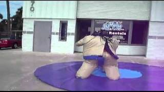 Inflatable Sumo Suit - www.JumpinBeansPartyRentals.com