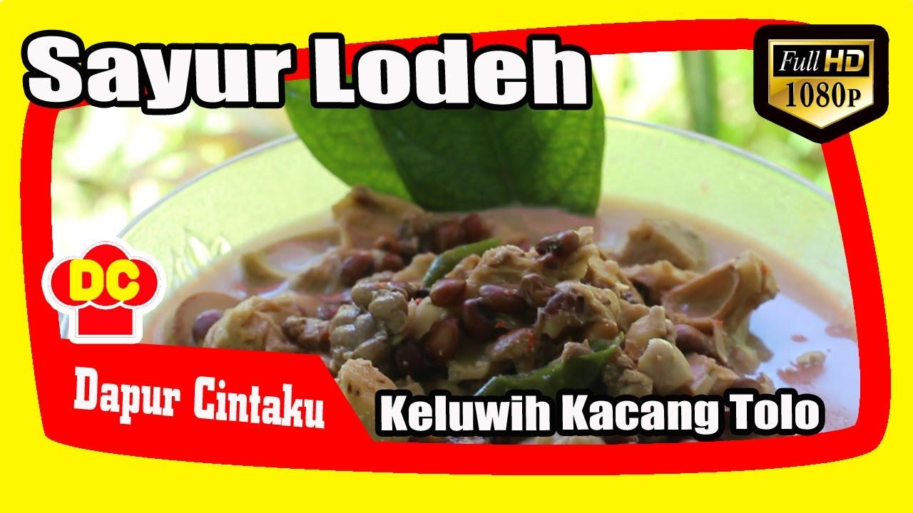 Resep Lodeh Kluwih Masakan Ndeso Dapur Cintaku Youtube