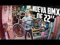 MI NUEVA BMX DE 22 PULGADAS?? - Casi se chocan intentando backflip!!
