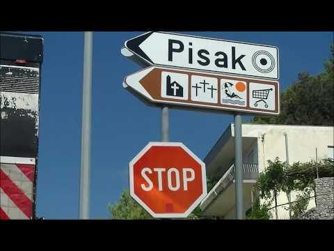 Wyjazd z Pisaka ( Chorwacja, Pisak 2017)