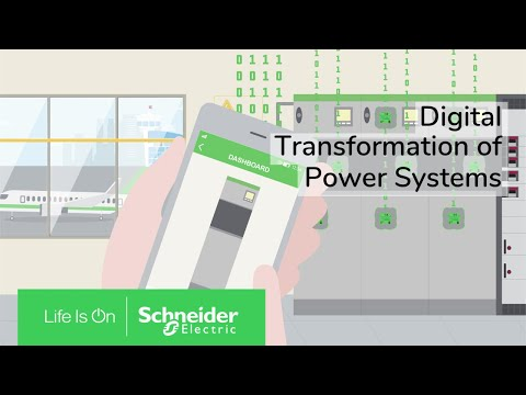 Digital Transformation Of Power Systems Explained | Schneider Electric