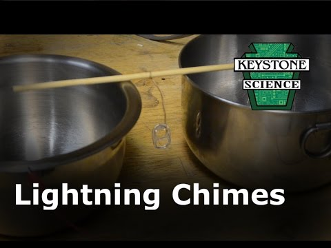 How to make Lightning Chimes ( Franklin Bells )