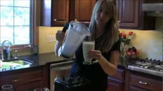 Make A Delicious Coconut Vanilla Milkshake