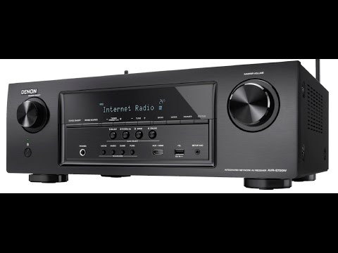How to fix the No LED Display on a Denon AVRS700W receiver