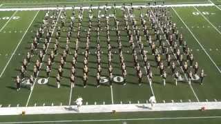 Vidor High School Band 2015 - UIL 5A Area F Marching Contest