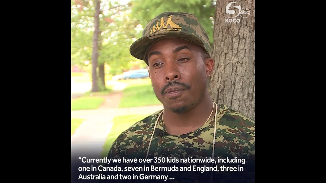 BLACK MAN TRAVELS COUNTRY MOW LAWNS FOR VETERANS