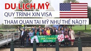Du Lịch Mỹ - Quy Trình Nhận Hồ Sơ Và Tư Vấn Cho Các Du Khách Làm Visa Mỹ - Vietourist.com.vn