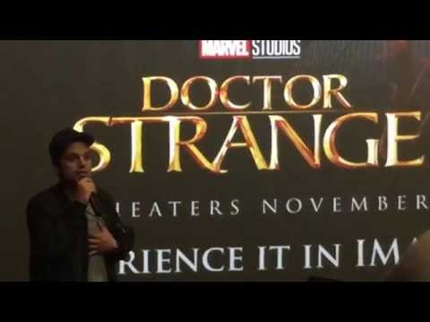 Sebastian Stan, at the special footage screening of Marvel's Doctor Strange