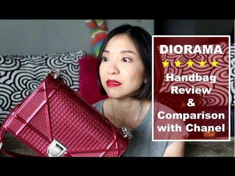 Diorama - Bag Review & Comparison with Chanel Bags