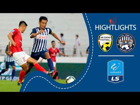 AN GIANG vs. BÀ RỊA VŨNG TÀU - Chặn đứng chuỗi thăng hoa | Highlights LS V.League 2 2020