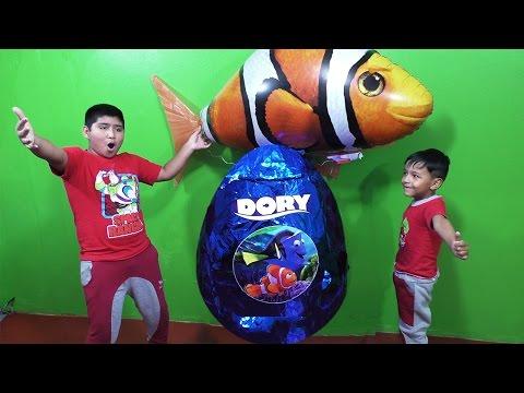 Huevos gigante de Sorpresa de Buscando a Dory - FINDING DORY GIANT EGG SURPRISE Finding Dory