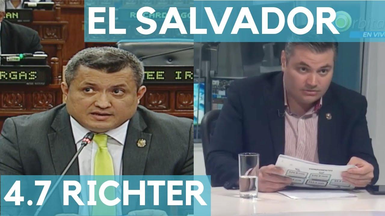 TEMBLOR EN EL SALVADOR 4.7 GRADOS RICHTER || 10 DE FEBRERO DE 2020