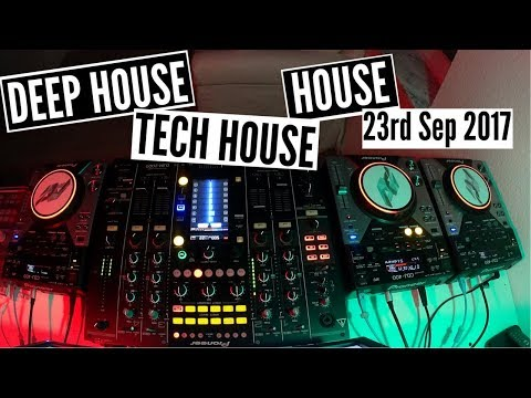 Deep House, Tech House, House Mix - 23rd Sep 2017
