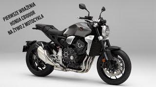 Live z pokładu motocykla - HONDA CB1000R - pierwsze wrażenia - Livestream - Na żywo