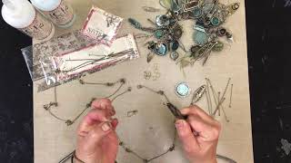 Susan Lenart Kazmer Using ICE Resin® Jewelry Wires to Create a Necklace