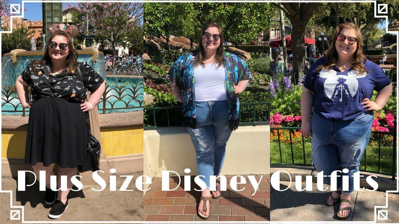 Plus Size Disney Spring Break Lookbook | Four Outfits in Three Days ...