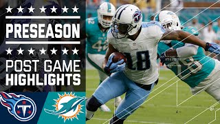 Titans vs. Dolphins | Game Highlights | NFL