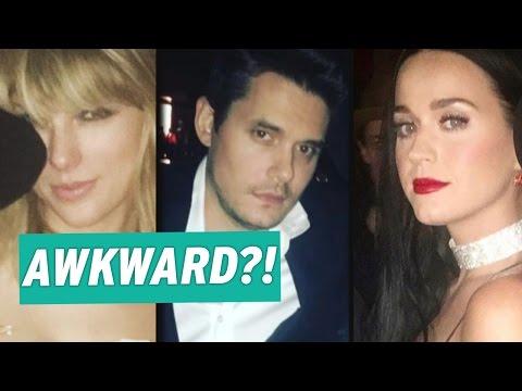 Awkward?! Taylor Swift Katy Perry and John Mayer Attend Drake's 30th Birthday Bash -- Pics! Mp3