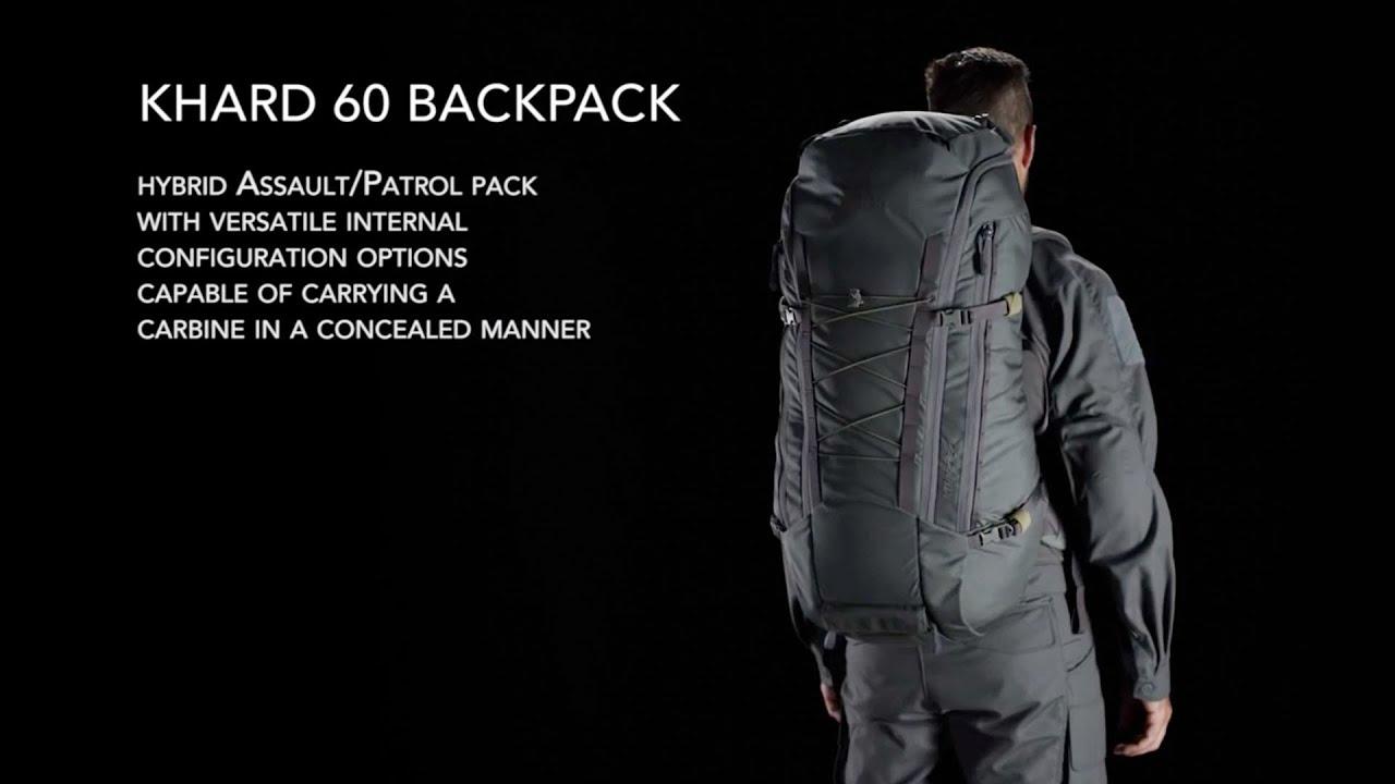 b6e29d6b8 Khard 60 backpack - YouTube