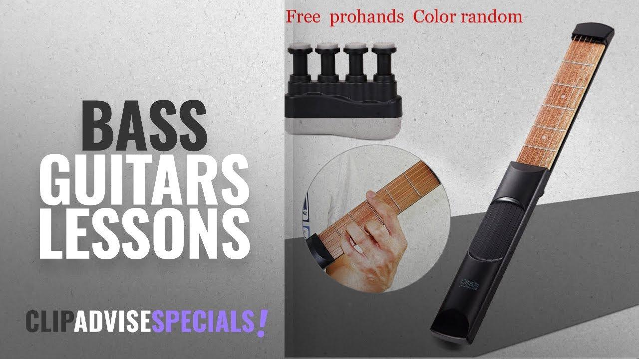 top 10 bass guitars lessons 2018 portable pocket guitar trainer finger trainer chord practice. Black Bedroom Furniture Sets. Home Design Ideas