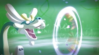 Pokemon Sun and Moon Wi-Fi Battle: Drampa Protects the Children!! (1080p)