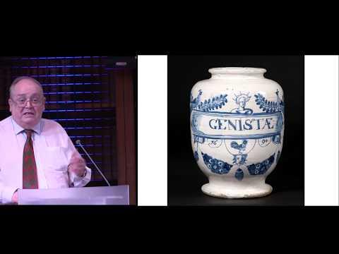 English delftware apothecary jars