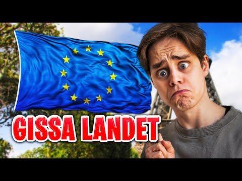 GISSA EUROPA!!! (VILKET LAND?)