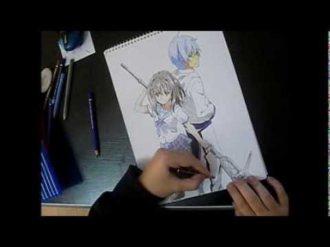 colouring-Strike the Blood (speed paint) - YouTube