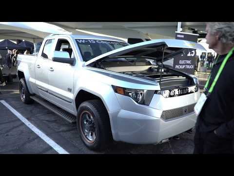 W-15 Electric Pickup Truck Interview with Workhorse