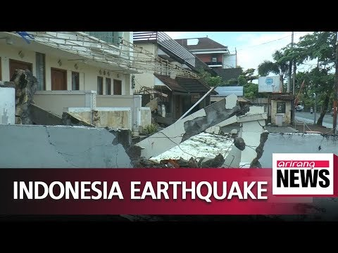 At least 91 dead after earthquake strikes Indonesian island of Lombok
