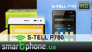 S-TELL P780 - Обзор смартфона