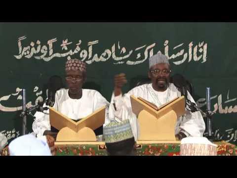 TAFSIR by Dr. Sheik Abubakar Nasidi G/Dutse 2013 4a