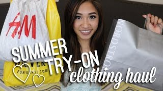 HUGE SUMMER TRY ON HAUL 2016