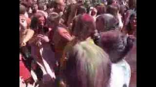 HOLI CELEBRATION AT FREMONT HINDU TEMPLE
