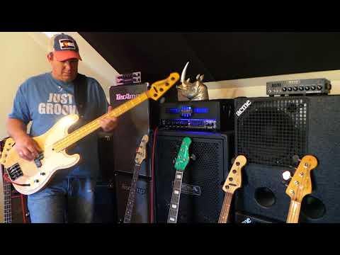 Nordstrand P Bass Pickups - Various Models Demo - Andy Irvine