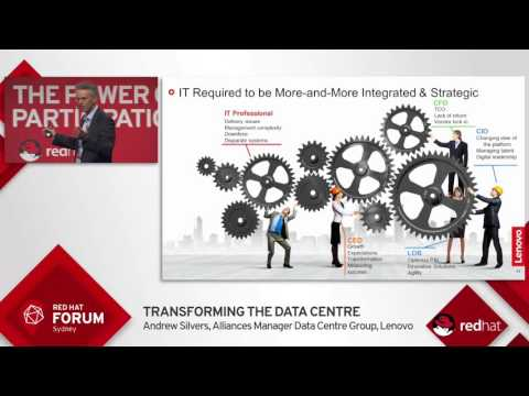 Highlights from Red Hat Forum Sydney 2016: Andrew Silvers