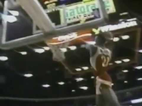 Dominique Wilkins Two Handed Windmill 1988