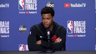 Toronto Raptors Media Availability | NBA Finals Game 5