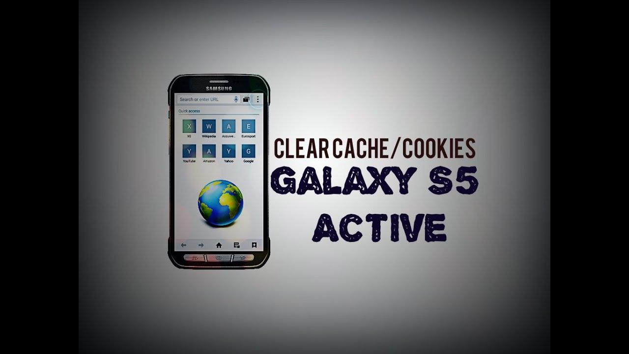 Cookies Samsung Galaxy S5 Active