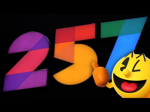 Touring Level 257 a NEW Pac-Man Restaurant!