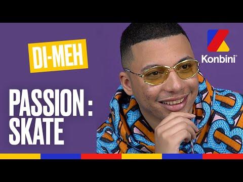 Youtube: Di-Meh:«J'ai arrêté le foot pour le skate» l Passion Skate l Konbini