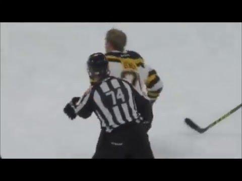 Michael Bunting vs Anton Blidh Jan 29, 2016
