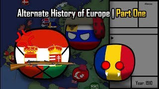 Alternate History of Europe in Countryballs   Part one