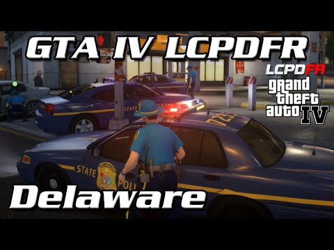 GTA IV LCPDFR MP - Delaware State Police - Off Into an Abyss
